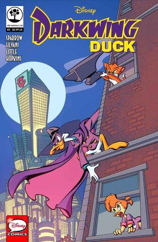 File:Darkwing Duck JoeBooks 5 cover.jpg