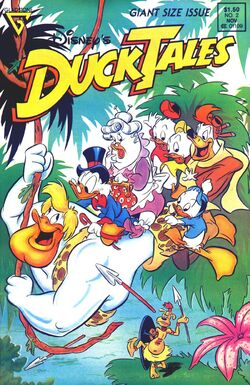DuckTales Gladstone Issue 2