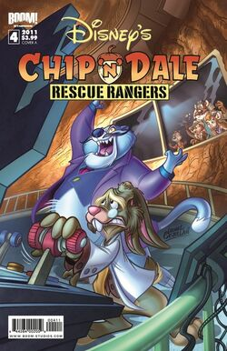 Rescue Rangers 2010 Comic Issue 4A
