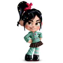 Vanellope was RP.