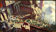 The dwarves concept art Stone Gateway