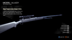 H-P Sniper Rifle model viewer