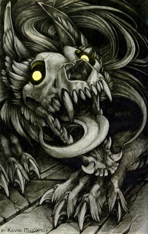 Skulldog by ravenmadwolf-d93z41v