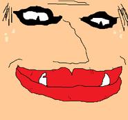 Vampire face remake fix