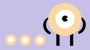 FOODORBDesktop Background Evil Donut Simple