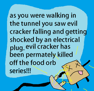 Evil cracker death