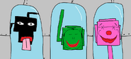 Monsters in containments