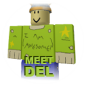 Meet deli badge