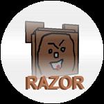 Badge razor
