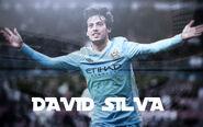 Manchester City David Silva Wallpaper 001