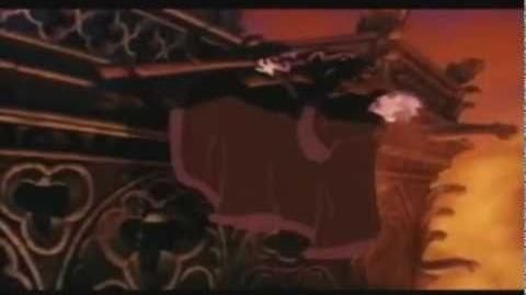 Frollo Faps to a Firefighters calendar