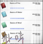 Spells list-basic spells