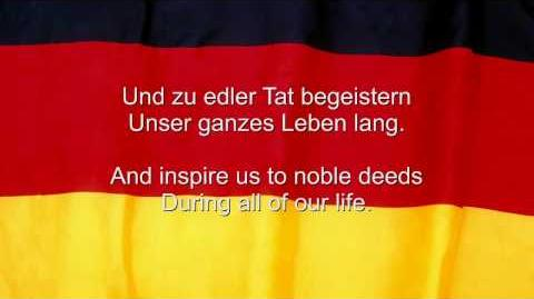 """Das Deutschlandlied"" - Germany National Anthem German & English lyrics-0"