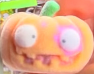 Puking Pumpkin Orange Figure
