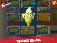 Squished banana app
