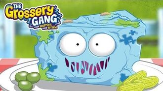 Grossery Gang Cartoon 🔥 MEET BLUE SPEW CHEESE 🔥 Cartoons for Children Toys For Children