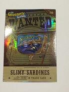 Slimy Sardines Card