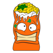 Burp-rito Orange