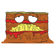 Lumpy lasagna 2