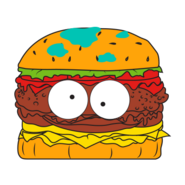Horrid Hamburger Orange