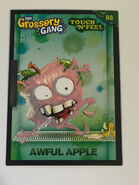 Awful apple touch n feel card