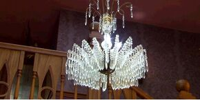 Anubis House Chandelier