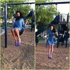 Hoa Mara swinging (weeee)