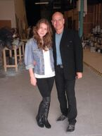 Nathalia and dad