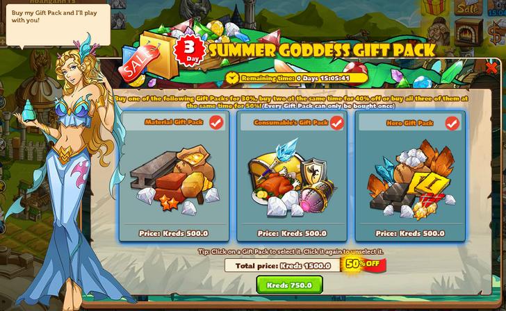 Summer Goddess Gift Pack