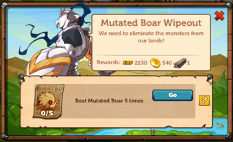 Mutated Boar Wipeout