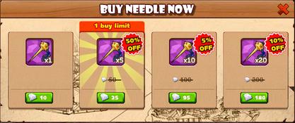Celebration Balloon Buy Needle