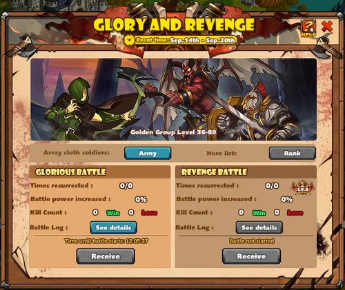 Glory and Revenge Golden Main 2015-09-14