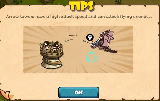 Arrow Tower tips