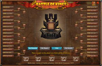 Battle of king panel