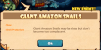 Giant Amazon Snails