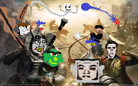 The battle of minas music