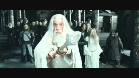 The Lord of the Rings The Two Towers (2002) - Gandalf Releases Theoden-0