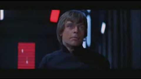 Star Wars Episode VI The Return of the Jedi Luke Skywalker vs