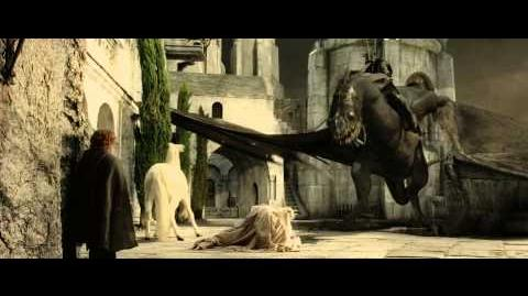 The Lord Of The Rings - Gandalf vs Witch-King of Angmar (1080p HD)