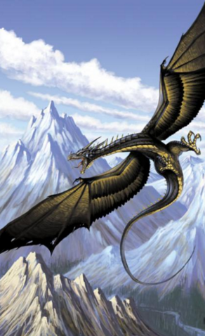 File:Wyvern in the sky.png