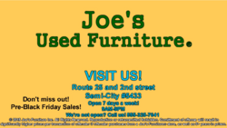 Joe's Used Furniture Commercial