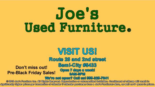 File:Joe's Used Furniture Commercial.png
