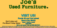 Joe's Used Furniture