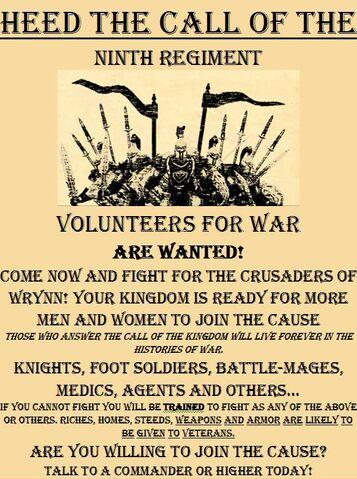 File:Crusaders of Wrynn Recruiting Poster.jpg