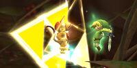 Toon Link's Triforce Slash