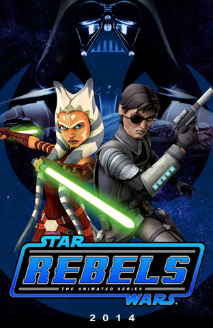 File:Star Wars Rebels Ahsoka Tano & Lux Bonteri (Fan Art).jpg