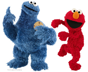File:Cookie Monster and Elmo Bothers.jpg
