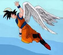 Goku with wings