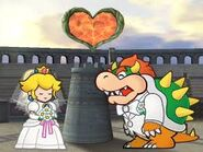 Peach refusing to marry bowser