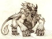 Demon monkey king
